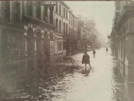 Flood on Oliver Plunkett Street