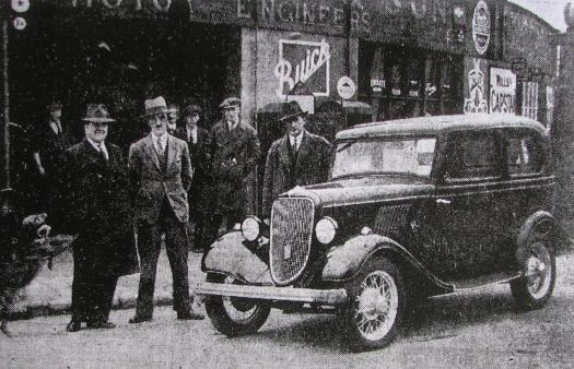 Canty's Garage, 1933