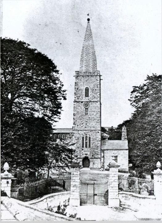 The old St Finbarr's Cathedral