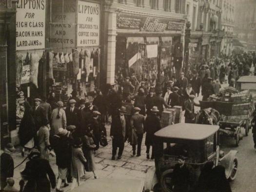 Lipton's on St. Patrick's Street, 1928