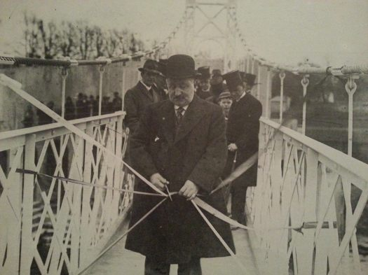 The official opening of Daly (Shakey) Bridge, Feb 1927