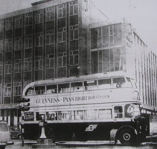 Bus on South Mall