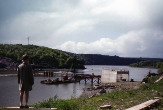 Youghal Bridge, 1961
