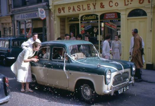 Wedding Car in Youghal