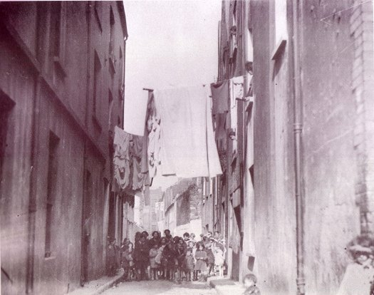 4.2. Broad Lane, Cork, c.1900, U.P., Cork Examiner