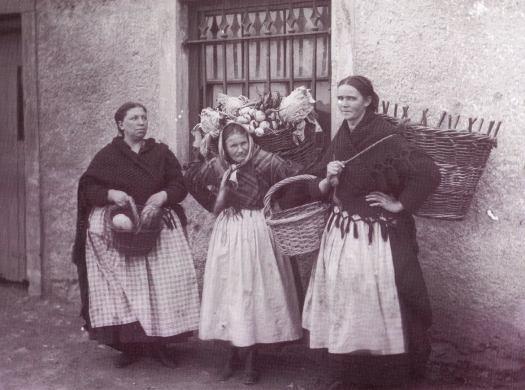 Vegetable Sellers, Cork 1890