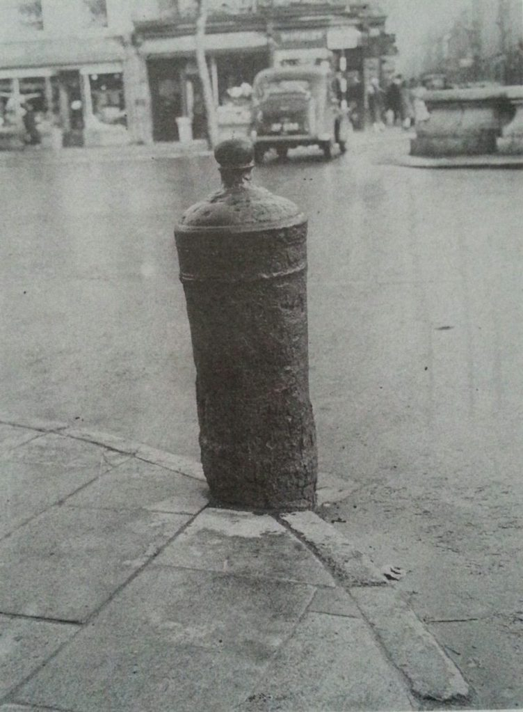 The cannon on Grand Parade, 1950s