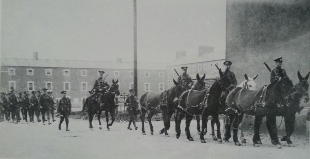Image result for victoria barracks cork 1921