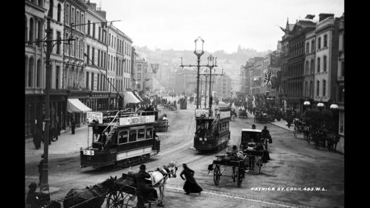 St. Patrick's Street through the ages 2