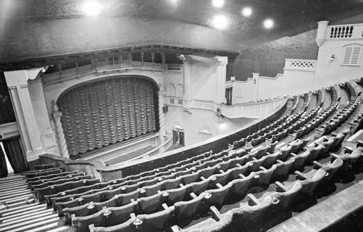 Inside the Savoy Cinema