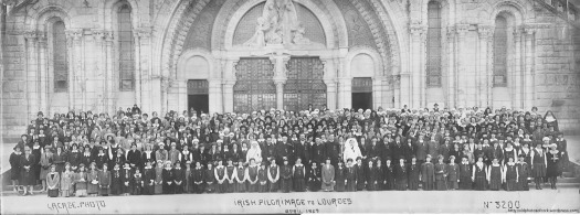 Irish Pilgrims in Lourdes, 1929