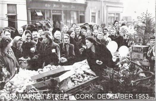 Cornmarket Street, Cork. December 1953