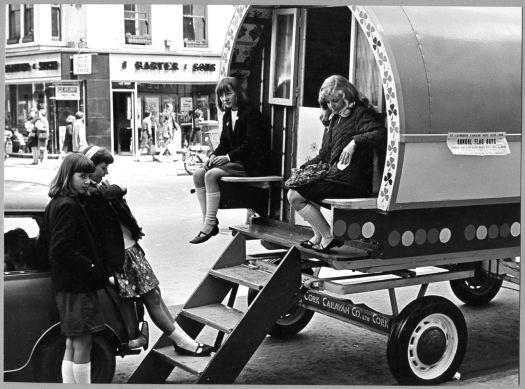 A caravan on St Patrick's Street