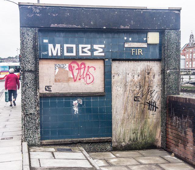 The toilet on Merchants Quay