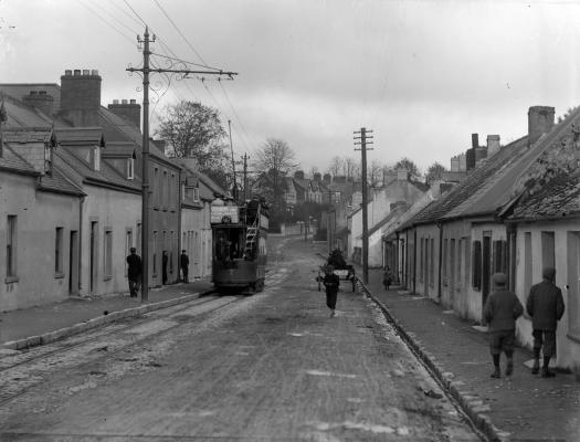 Tram in Ballintemple