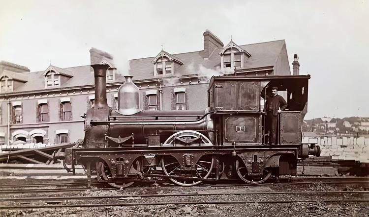 CB&PR locomotive No. 1